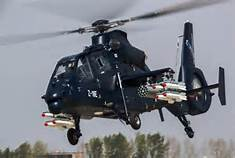 China Makes Z-19E Helicopter