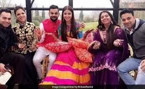 Wedding Reception of Virat Kohli and Anushka Sharma in Mumbai